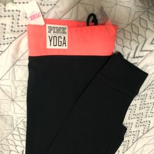 PINK Victoria's Secret Pants - Pink Yoga tights